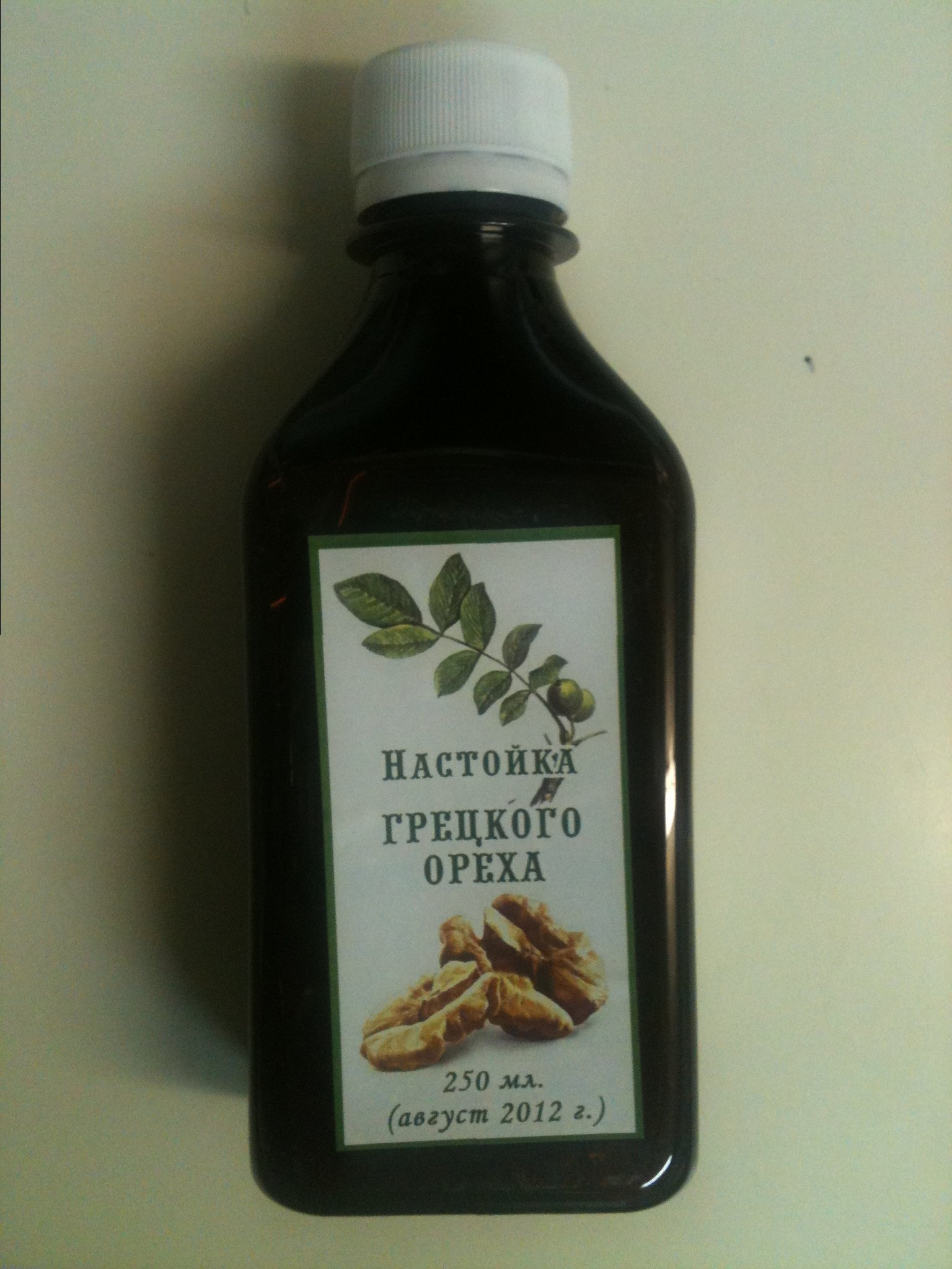 Срок хранения настойки из зеленого грецкого ореха